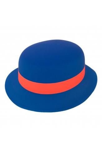 Chapéu Coquinho Neon com Fita - Azul Royal - NaMega Festas 301b5377a7e
