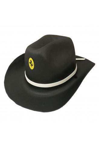 Chapéu Cowboy E.V.A Adulto - Preto - NaMega Festas 2990e21a214